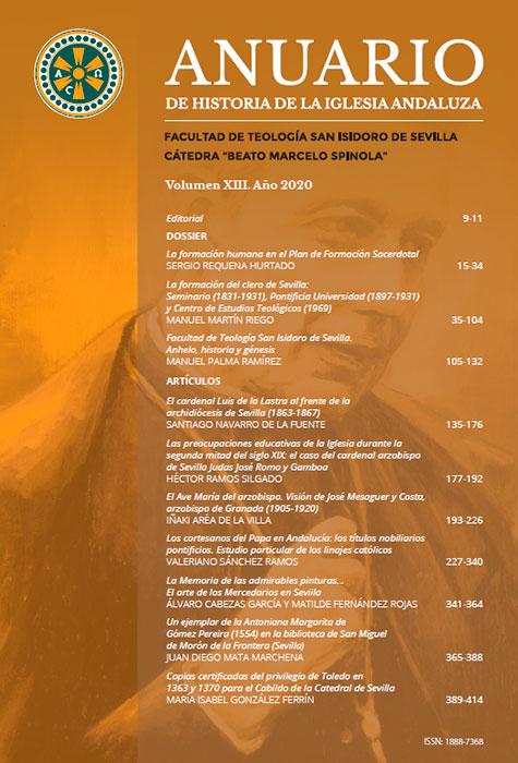 Anuario de Historia de la Iglesia Andaluza