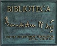 Biblioteca Benedicto XVI CET Sevilla